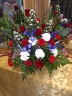BACKSTAGE  PATRIOTIC BASKET from Backstage Florist in Richardson, Texas