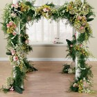 Floral Arch/Huppah from Backstage Florist in Richardson, Texas