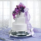 Purple Orchid Cake Flowers from Backstage Florist in Richardson, Texas