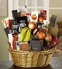 E-127 Deluxe Fruit and Gourmet Basket from Backstage Florist in Richardson, Texas