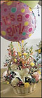 FTD Baby Girl Bouquet with Balloons from Backstage Florist in Richardson, Texas