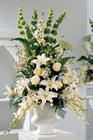 Classic White Arrangement from Backstage Florist in Richardson, Texas