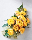 Sweet Sunshine Corsage from Backstage Florist in Richardson, Texas