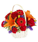 FTD Fun in the Sun Basket from Backstage Florist in Richardson, Texas