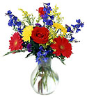FTD Burst of Color Bouquet from Backstage Florist in Richardson, Texas