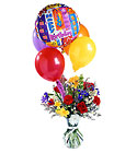 FTD Colorburst Birthday Arrangement from Backstage Florist in Richardson, Texas