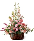 Exquisite Memorial Basket from Backstage Florist in Richardson, Texas