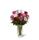The FTD Captivating Color Rose Bouquet