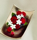 The FTD Poetry Corsage from Backstage Florist in Richardson, Texas