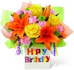 The FTD Birthday Celebration Bouquet from Backstage Florist in Richardson, Texas