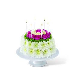 The FTD Wonderful Wishes Floral Cake from Backstage Florist in Richardson, Texas