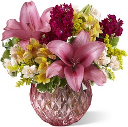 The FTD Pink Poise Bouquet