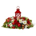 The FTD Celebrate the Season Centerpiece from Backstage Florist in Richardson, Texas