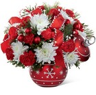 The FTD Season's Greetings Bouquet from Backstage Florist in Richardson, Texas