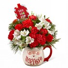 The FTD Believe Mug Bouquet by Hallmark from Backstage Florist in Richardson, Texas