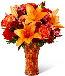 The FTD Autumn Splendor Bouquet from Backstage Florist in Richardson, Texas