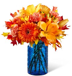 The FTD Autumn Wonders Bouquet from Backstage Florist in Richardson, Texas