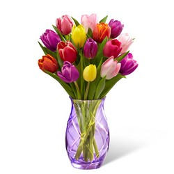 The FTD Spring Tulip Bouquet by Better Homes and Gardens from Backstage Florist in Richardson, Texas