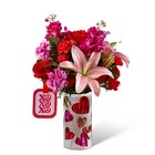 The FTD Love You XO Bouquet by Hallmark from Backstage Florist in Richardson, Texas