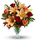 Teleflora's Fall Fantasia from Backstage Florist in Richardson, Texas