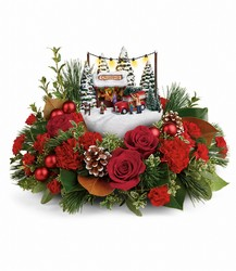 Thomas Kinkade's Festive Moments Bouquet from Backstage Florist in Richardson, Texas