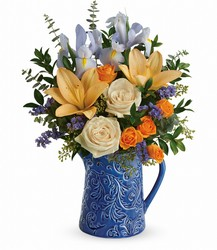 Teleflora's Spring Beauty Bouquet from Backstage Florist in Richardson, Texas