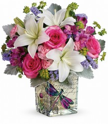 Teleflora's Garden Poetry Bouquet from Backstage Florist in Richardson, Texas