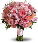 Pink Rose Garden Bouquet from Backstage Florist in Richardson, Texas