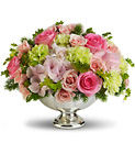 Teleflora's Garden Rhapsody Centerpiece from Backstage Florist in Richardson, Texas