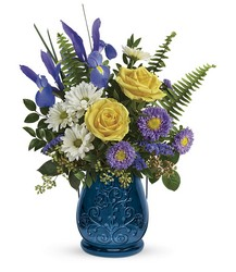 Teleflora's Sapphire Garden Bouquet from Backstage Florist in Richardson, Texas