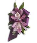 Exquisite Orchid Wristlet from Backstage Florist in Richardson, Texas