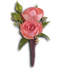Rose Simplicity Boutonniere from Backstage Florist in Richardson, Texas