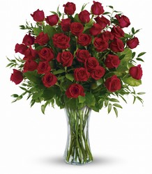 Breathtaking Beauty - Three Dozen Red Roses from Backstage Florist in Richardson, Texas