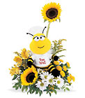Bee Well Bouquet from Backstage Florist in Richardson, Texas