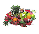 Fruit and Gourmet Basket from Backstage Florist in Richardson, Texas