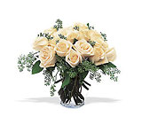 White Roses from Backstage Florist in Richardson, Texas