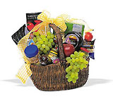 Gourmet Picnic Basket from Backstage Florist in Richardson, Texas