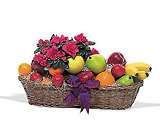 Plant and Fruit Basket from Backstage Florist in Richardson, Texas